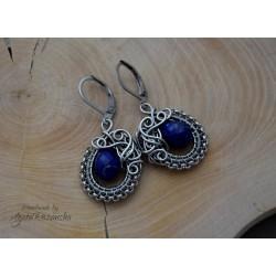 Kolczyki z Lapis Lazuli