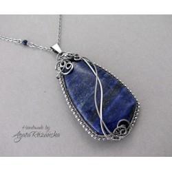 Wisior z Lapis Lazuli