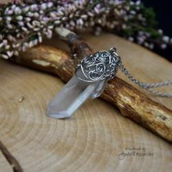 Wisiorek talizman kryształ górski II