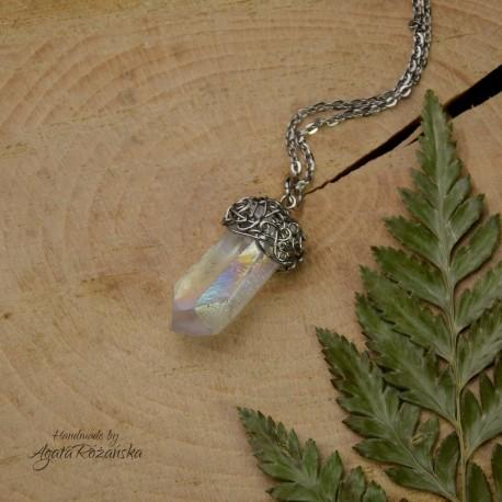 Wisiorek talizman kryształ Anielska Aura 2