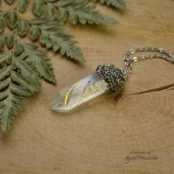 Wisiorek talizman kryształ Anielska Aura 3