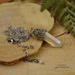Wisiorek talizman kryształ Anielska Aura 4